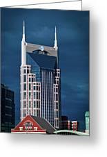Nashville Landmarks Greeting Card