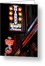 Nashville Neon Signs  Greeting Card