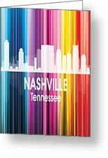 Nashville Tn 2 Vertical Greeting Card