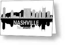 Nashville Tn 4 Squared Greeting Card