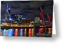 Nashvilles Ghost Ballet Greeting Card