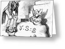 Nast: Inflation, 1873 Greeting Card