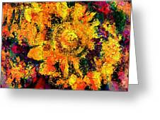 Natalie Holland Sunflowers Greeting Card