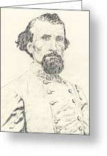 Nathan Bedford Forrest Greeting Card