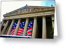 National Archive Building Greeting Card