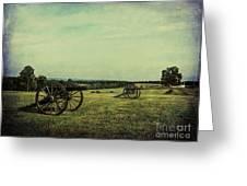 National Battlefield Park - Manassas Va Greeting Card