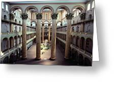 National Building Museum Interior Greeting Card