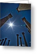 National Capitol Columns #2 Greeting Card