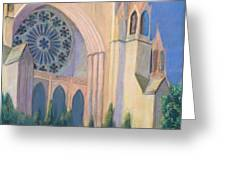 National Cathedral Greeting Card by Don Perino
