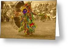 National Championship Pow Wow - Grand Prairie, Tx Greeting Card