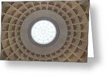 National Gallery Of Art Dome Greeting Card