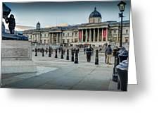 National Gallery Trafalgar Square Greeting Card