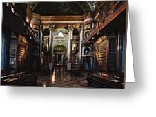National Library, Vienna Greeting Card