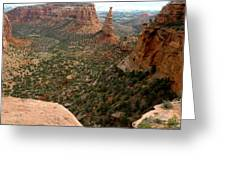 National Monument Colorado Greeting Card