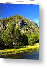 National Park Mountain Greeting Card