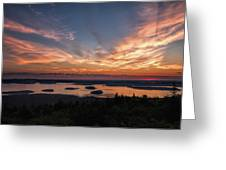 National Sunrise Greeting Card
