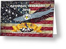 National Veterans Creative Arts Festival Greeting Card