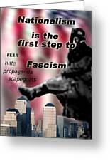 Nationalism Greeting Card