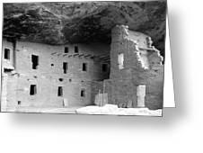 Native American Dwellings Greeting Card