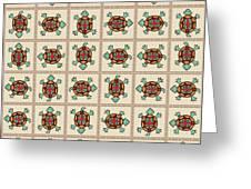 Native American Pattern Greeting Card