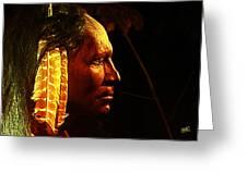 Potawatomi Chief Greeting Card