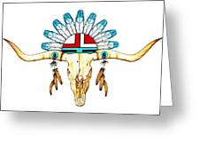 Native Guide Greeting Card
