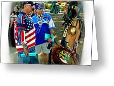 Native Intelligence Greeting Card