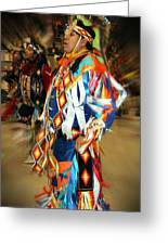 Native Leader Greeting Card