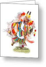 Native Rhythm Greeting Card