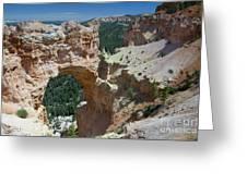 Natural Arch Bryce Canyon - Utah Greeting Card