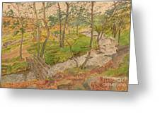 Natural Beauty Of Grindleford Greeting Card