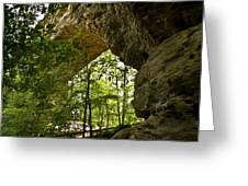 Natural Bridge Arch Greeting Card