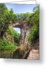 Natural Bridge - Virginia Landmark Greeting Card