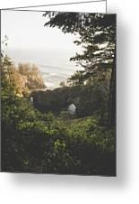 Natural Bridges Cove Greeting Card