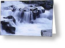 Natural Bridges Falls 01 Greeting Card