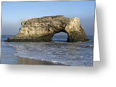 Natural Bridges State Park - Santa Cruz - California Greeting Card
