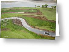 Natural Golf Greeting Card