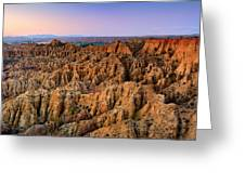 Natural Monument Carcavas Del Marchal II Greeting Card