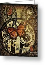 Like Clockwork Greeting Card