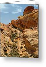 Natural Staircase Valley Of Fire Greeting Card