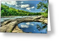 Natural Swimming Pool Greeting Card