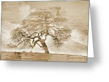 Natural Tree Greeting Card