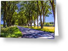 Natural Tunnel Greeting Card