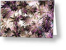 Nature Abstract In Pink And Brown Greeting Card