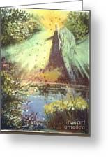 Nature Angel Greeting Card
