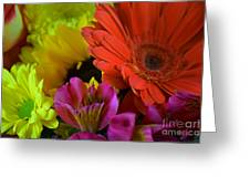 Nature Colorful Bouquet Greeting Card