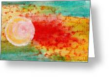 Nature In Abstract  Greeting Card