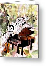 Nature Is Music To My Soul Greeting Card