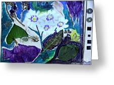 Nature Ll  Collage Greeting Card