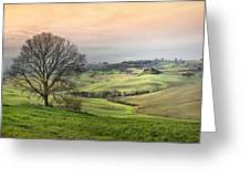 Nature Paints Greeting Card